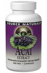 Acai Berry Source Naturals Review