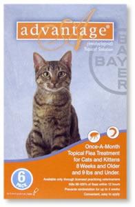 Advantage Flea Treatment for Cats