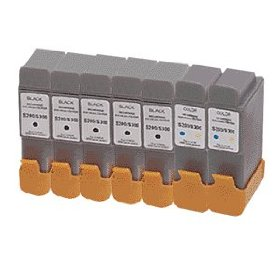 Canon Compatible Ink Cartridges 7-Pack: for i250, i320, i350,i450, S300, S330, Pixma iP1500, i470D, MultiPASS MP390,etcI350