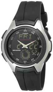 Casio Digital Analog Mens Watch Sport Ana-Digi #AQ160W-1BV
