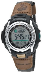 Casio Pathfinder Watch Mens Forester Moon Phase #PAS400B-5V
