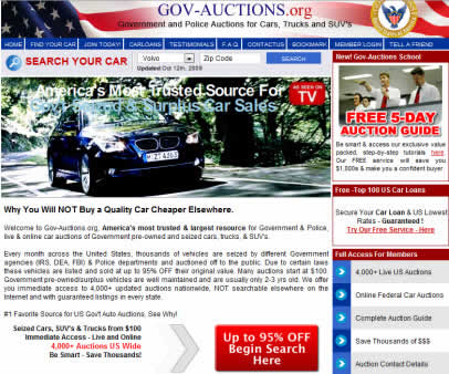 govauctions2 Government Car Auctions