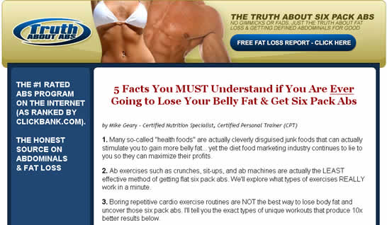 truthsixpack Truth About Six Pack Abs Review   Is It A Scam?